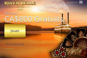 Roulette en ligne au River Belle Casino bonus